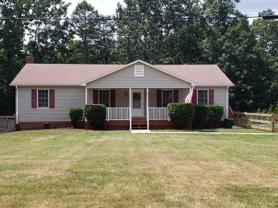 Rustburg Single Family Home For Sale: 1241 Greenhouse Road