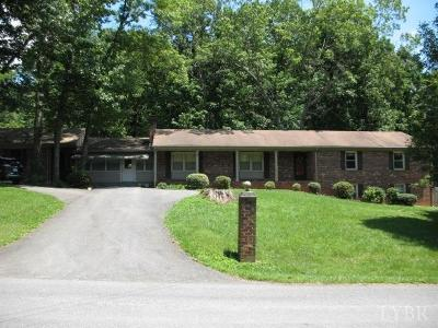 Lynchburg Single Family Home For Sale: 456 Oakland Circle