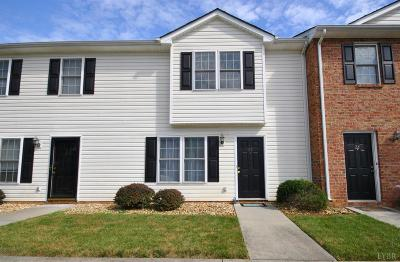 Lynchburg Condo/Townhouse For Sale: 3600 Old Forest Road