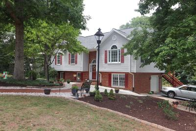 Lynchburg Single Family Home For Sale: 63 Viking Drive
