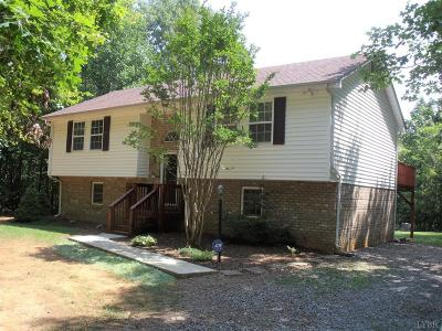 Evington VA Single Family Home For Sale: $174,900