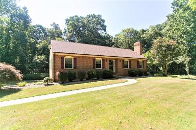 Forest Single Family Home For Sale: 2892 Thomas Jefferson Road