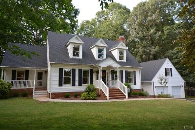 Forest Single Family Home For Sale: 711 Lake Vista