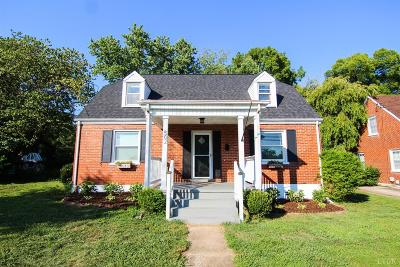 Lynchburg Single Family Home For Sale: 502 Perrymont Avenue