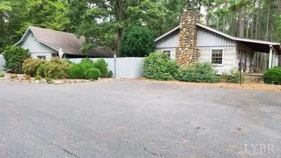 Rustburg Single Family Home For Sale: 711 Calohan Road