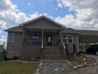 Bedford Single Family Home For Sale: 2685 Gladdy Branch Road