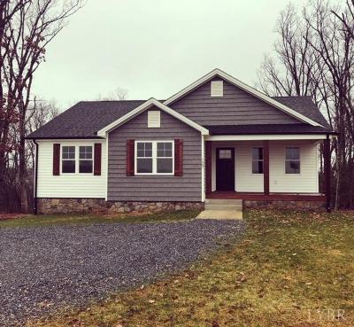 Rustburg Single Family Home For Sale: Colonial Highway