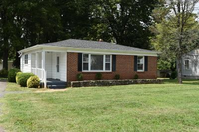 Lynchburg Single Family Home For Sale: 109 Phillips