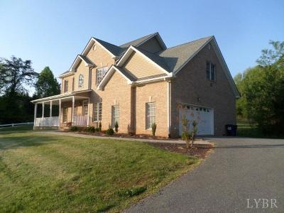 Forest Single Family Home For Sale: 1032 Walkers Crossing