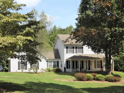 Rustburg Single Family Home For Sale: 4631 Browns Mill Road