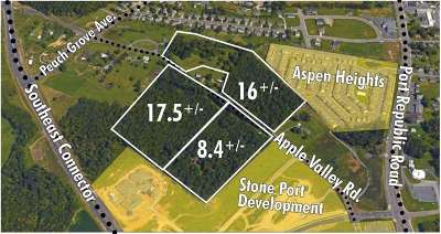 Harrisonburg Lots & Land For Sale: 1556 Apple Valley Rd