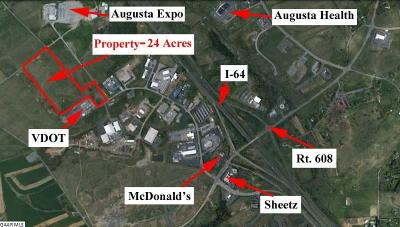 Augusta County Lots & Land For Sale: 1 Jericho Rd