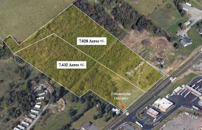Harrisonburg Commercial For Sale: Tbd North Valley Pike