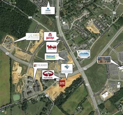 Harrisonburg Commercial For Sale: Lot 8 Port Republic Rd