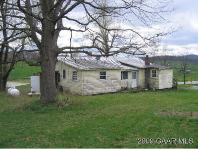Single Family Home Sold: 1562 Stuarts Draft Hwy