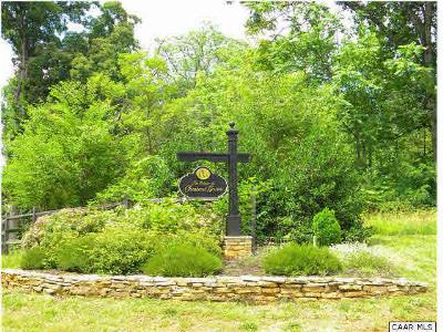Albemarle County Lots & Land For Sale: 6 Sienna Ln