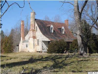 Albemarle County Farm For Sale: 728 Campbell Rd