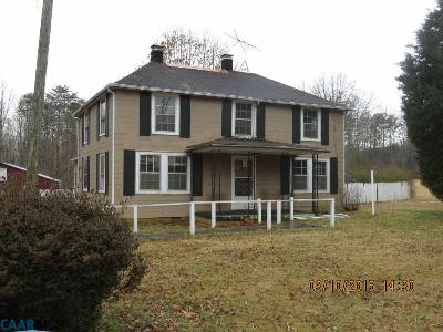 Buckingham County Single Family Home For Sale: 258 Blinkys Rd