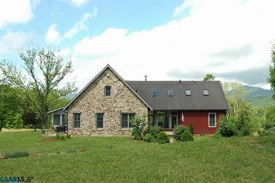 Nelson County Single Family Home For Sale: 4981 Laurel Rd