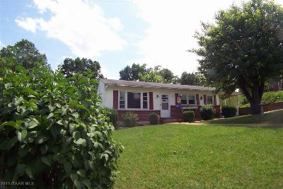 Staunton VA Single Family Home Sold: $99,900
