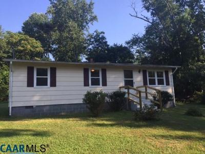 Albemarle County Single Family Home For Sale: 6459 Esmont Rd