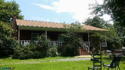 Louisa, Louisa County Single Family Home For Sale: 3673 Byrd Mill Rd
