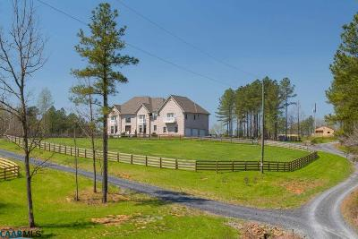 Scottsville Single Family Home For Sale: 534 Rockfish Run Rd