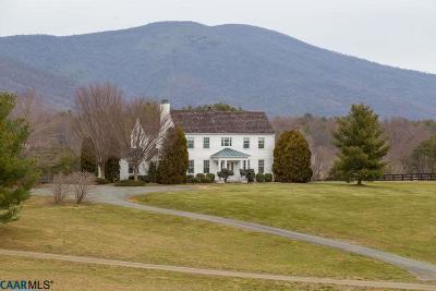 Crozet Single Family Home For Sale: 4370 Slam Gate Rd