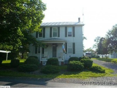 Augusta County Single Family Home For Sale: 4166 Spring Hill Rd