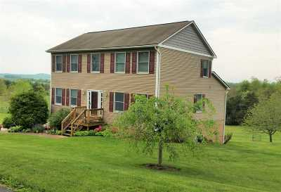 Mount Crawford Single Family Home Sold: 1725 Meadow Top Ln