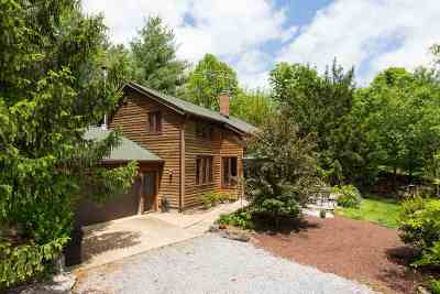 Linville Single Family Home Sold: 8762 Frog Hollow Rd
