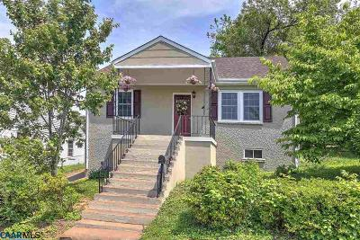 Charlottesville VA Single Family Home Sold: $249,900