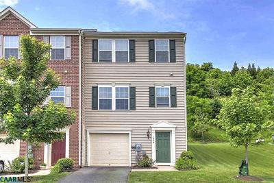 Charlottesville VA Attached Sold: $299,900