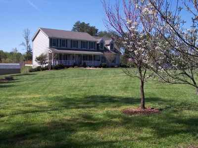 Fluvanna County Single Family Home For Sale: 5594 Union Mills Rd