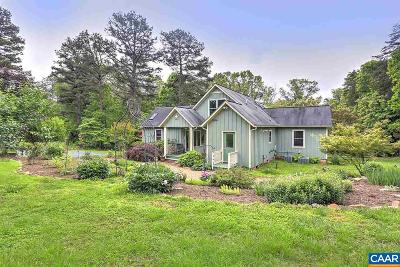 Albemarle County Single Family Home For Sale: 3482 Layton Dr
