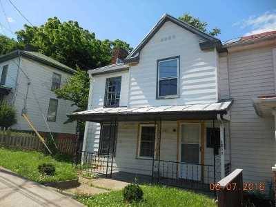 Staunton VA Single Family Home For Sale: $55,000