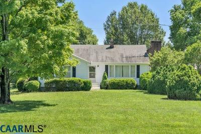 Scottsville Single Family Home For Sale: 51 Well Water Rd