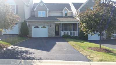 Staunton Townhome For Sale: 19 Spring View Dr
