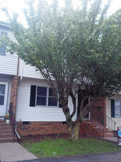 Harrisonburg VA Townhome Sold: $100,000
