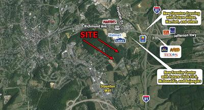 Staunton Lots & Land For Sale: 206 Frontier Dr