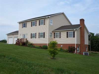 Linville Single Family Home Sold: 6673 Harpine Hwy