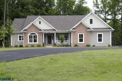 Earlysville Single Family Home For Sale: 323 Sienna Ln