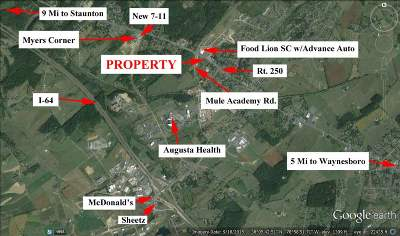Fishersville Lots & Land For Sale: 1463 Jefferson Hwy