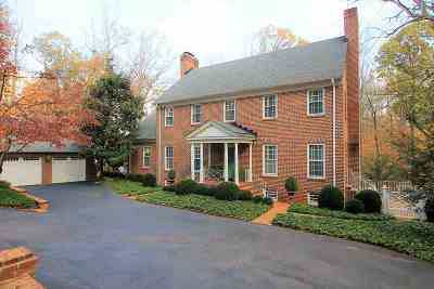Albemarle County Single Family Home Sold: 815 Tanglewood Rd