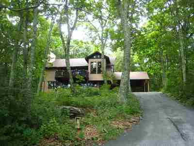Single Family Home For Sale: 673 Devils Knob Loop