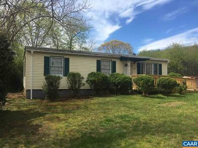 Charlottesville Single Family Home For Sale: 2480 Ponderosa Trl