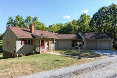 Mount Crawford Single Family Home Sold: 4582 W Timber Ridge Rd