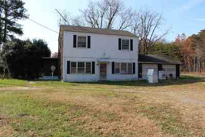 Scottsville Single Family Home For Sale: 16167 Constitution Rte