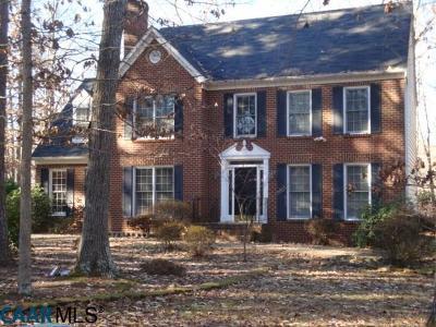 Fluvanna County Single Family Home For Sale: 228 Fieldstone Dr
