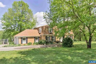 Fluvanna County Single Family Home For Sale: 2181 West River Rd